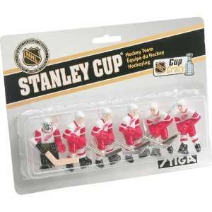 NHL Detroit Red Wings Table Top Hockey Game Players Team Pack: