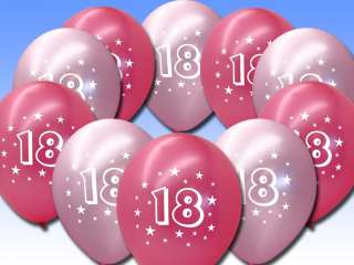 Perfect for celebrating an 18th Birthday these stylish balloons are a