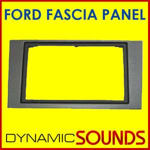Ford Mondeo Double Din Gun Metal Fascia Panel DFP 07 07
