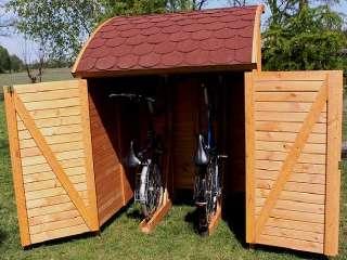 Fahrradgarage   Fahrradschuppen   Gerätehaus universal