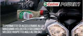 CARTONE OLIO MOTORE CASTROL POWER 1 RACING 4T 10W40 NEW