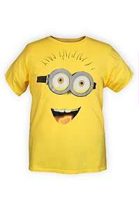 Despicable Me Minion Face T Shirt 2XL