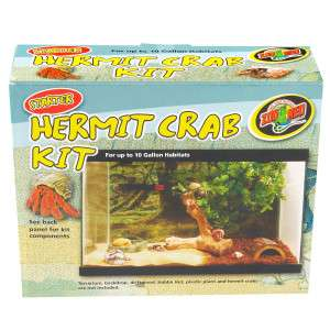 Zoo Med Hermit Crab Kit   Habitats & Accessories   Reptile   PetSmart