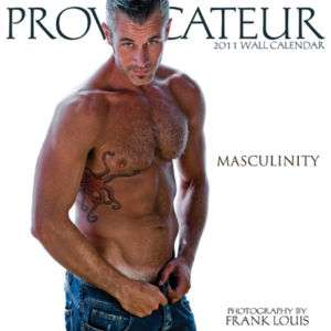PROVOCATEUR 2011 MASCULINITY WALL CALENDAR MUSCLE HUNKS