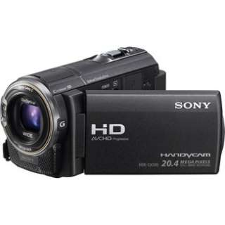 Sony HDR CX580V Full HD 32GB Flash Memory Camcorder   Black in Digital