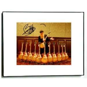 Billy Gibbons Autographed Signed ZZ Top 12 Guitars 8x10