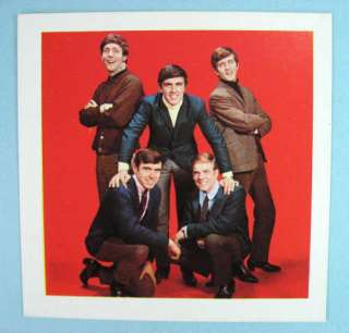 DAVE CLARK FIVE U.K. 1964 ORIGINAL MISTER SOFTEE CARD