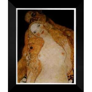 Gustav Klimt FRAMED Art Print 20x24 Adam and Eve Home