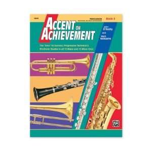 Band Method (Percussion, Book 3): John OReilly & Mark Williams: Books