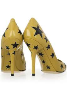 Dolce & Gabbana Star cutout leather pumps   50% Off Now at THE OUTNET