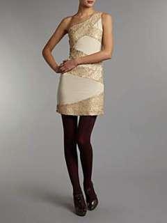 Homepage  Women  Dresses  Madam Rage Sequin panel dress