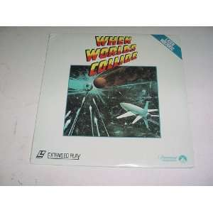 Laserdisc When Worlds Collide starring Barbara Rush, Richard Derr