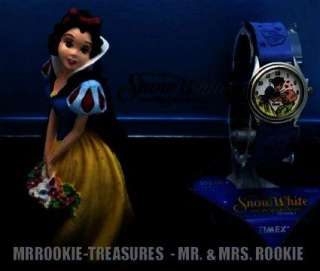UNIQUE New Disney Limited Edition Snow White Ladies Watch & Statue