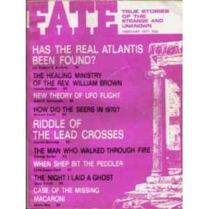 Fate Magazine, February 1971: Has the Real Atlantis Been