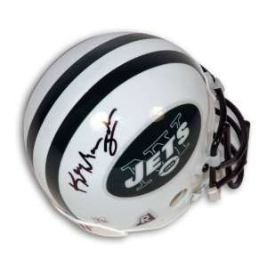Keyshawn Johnson Autographed New York Jets Mini Helmet
