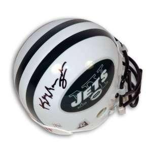 Keyshawn Johnson Autographed New York Jets Mini Helmet