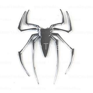 US$ 2.79   Chrome Alloy Badge Spider Car Logo Car Decal flag Sign