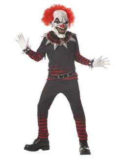 Teen Costumes / Evil Clown Boys Costume