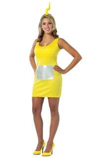 Teletubbies Laa Laa Tank Dress   Womens Sexy Teletubby Costume