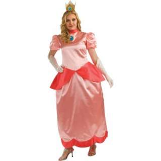 Super Mario Bros.   Deluxe Princess Peach Adult Plus Costume, 69265