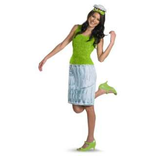 Sesame Street   Oscar Ladies Adult Costume, 800868