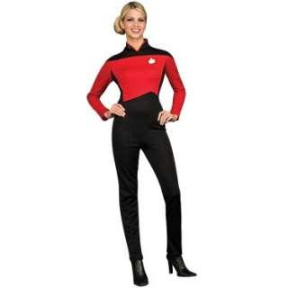 Star Trek Next Generation Red Jumpsuit Deluxe Adult Costume 60277