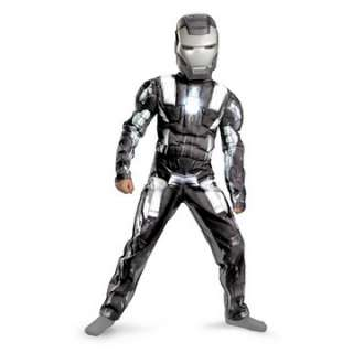 Iron Man 2 (2010) Movie   War Machine Classic Muscle Child Costume
