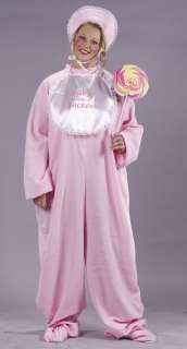 Adult Plus Size Pink PJ Jammies Costume   Funny Halloween Costumes