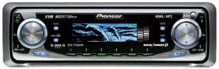 Pioneer DEH P7600MP car stereo AM FM XM Sirius CD MP3 IPOD AUX Zune