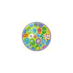 Easter Casual Eggs 10 Inch Banquet Plates Toys & Games