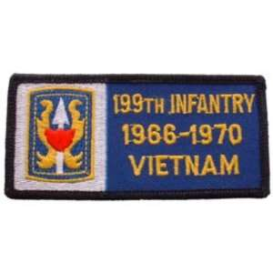 U.S. Army 199th Infantry Brigade 1966 1970 Vietnam Patch 1