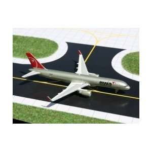 200 Blended Winglets Northwest Airlines Model Airplane Toys & Games