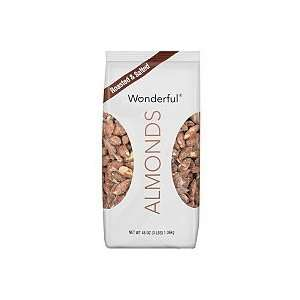 48 Ounce Wonderful Almonds 3lbs  Grocery & Gourmet Food