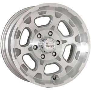 American Racing ATX Chamber 18x9.5 Silver Wheel / Rim 6x135 with a