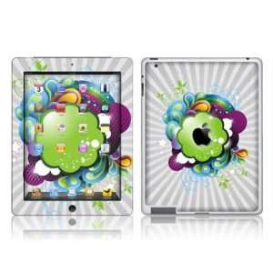 Apple  iPAD 2  FANTASY CLOUDS  Removable Decorative skin/vinyl Sticker