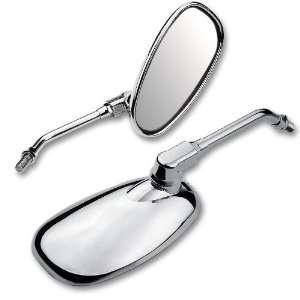 Pear Chrome Side Rearview Mirror for Suzuki Intruder Volusia Boulevard