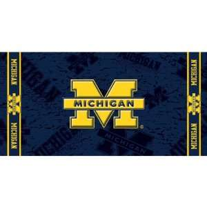 Michigan Wolverines NCAA Beach/Bath 30X60 Towel Sports & Outdoors