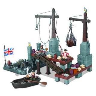Pirates of the Caribbean Mega Bloks 1016 Port Royal  Toys & Games