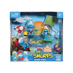 Smurf Beach Theme Pack Toys & Games