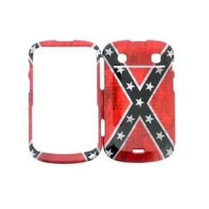BlackBerry Bold Touch 9900 9930 Red with White Stars Flag