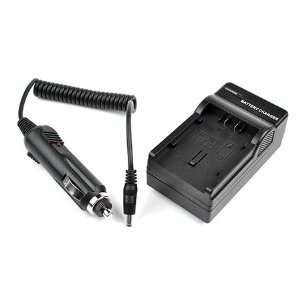 CGA DU21 AC / DC Replacement Battery Charger Set for Panasonic NV GS