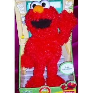 Fisher Price Elmo Full Body 20 Puppet Plush Doll Toy Toys & Games