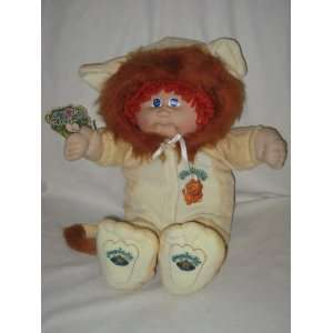 1984 Cabbage Patch Kids Doll   Lion Jump Suit Toys