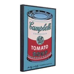 wood framed print Campbells Soup Can, 1965