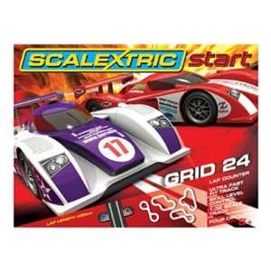 1/32 Scalextric START Analog Slot Car Race Track Sets