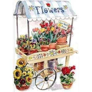 Card   Flower Cart Recovery Carol Wilson: Health & Personal Care