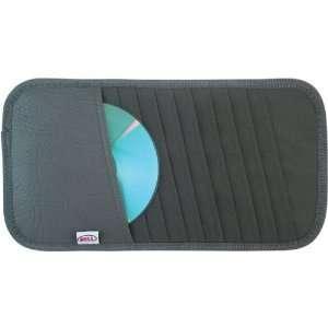 Bell Visor Organizer   10 CD/DVD   Gray Color Automotive