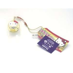 Sanrio Hello Kitty 3D Bell Netsuke Cell Phone Charm Toys & Games