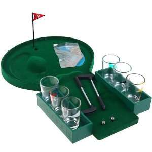 Golf Shot Glass Bar Drinking Bar Game NEW Popular: Patio