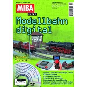 digital 9 mit DVD   MIBA Extra 2008 (9783896104755): Miba: Books